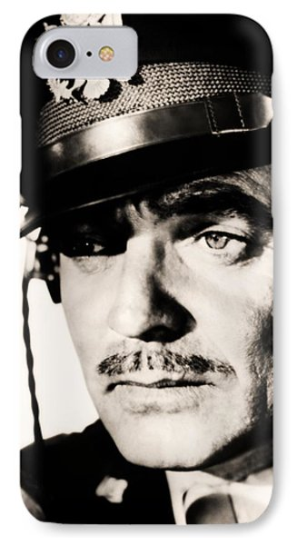 IPhone Case featuring the photograph Clark Gable Hollywood Sex Symbol In The Movie Command Decision by R Muirhead Art