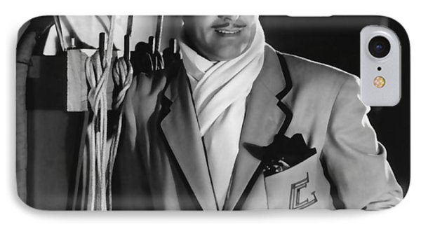 IPhone Case featuring the photograph Clark Gable Hollywood Movie Idol  by R Muirhead Art