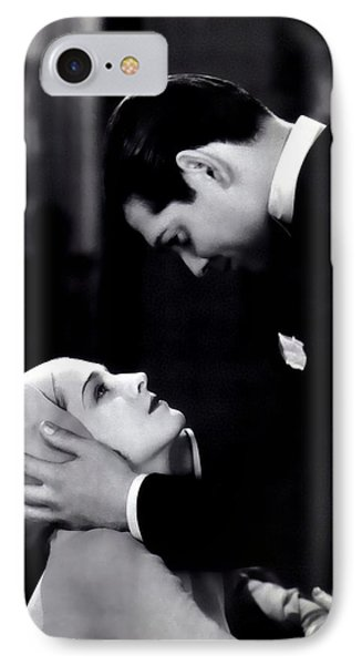 IPhone Case featuring the photograph Clark Gable In A Free Soul by R Muirhead Art