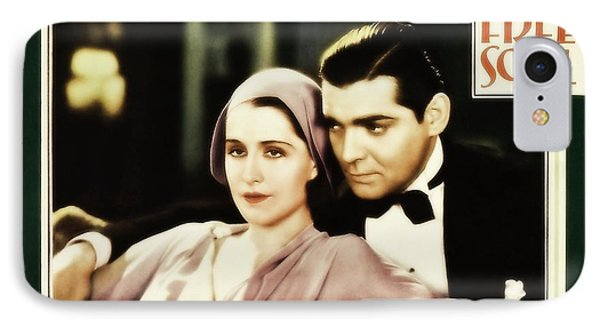IPhone Case featuring the photograph Clark Gable Movie Idol In A Free Soul by R Muirhead Art