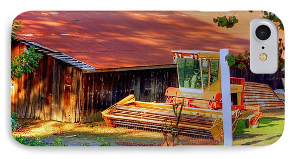 Clarkburg Combine Phone Case by Randy Wehner Photography