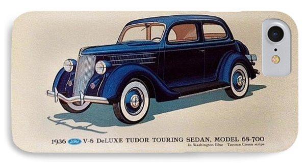 Classic American Cars IPhone Case