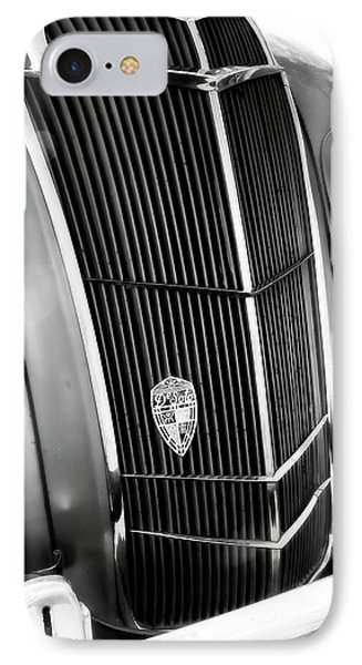 IPhone Case featuring the photograph Classic Car Grill 1935 Desoto - Photography by Ann Powell