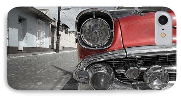 Classic Car - Trinidad - Cuba IPhone Case by Rod McLean