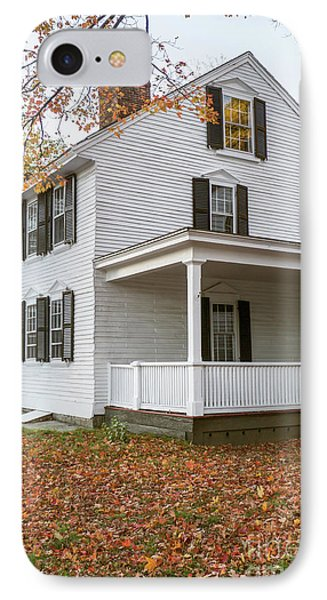 Classic Colonial Home IPhone Case by Edward Fielding