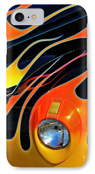 Classic Flames Phone Case by Perry Webster