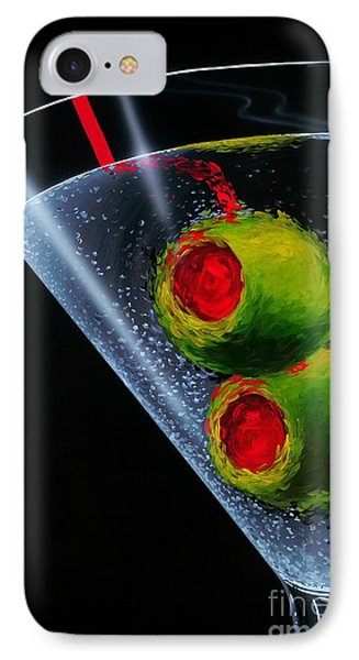 Classic Martini IPhone 7 Case by Michael Godard