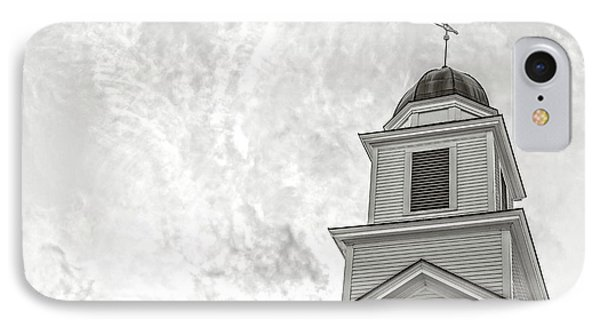 IPhone Case featuring the photograph Classic New England Church Etna New Hampshire by Edward Fielding
