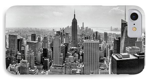 Classic New York  IPhone 7 Case by Az Jackson