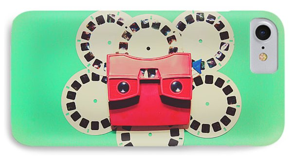 Classic Old Media Slide Show Viewer IPhone Case