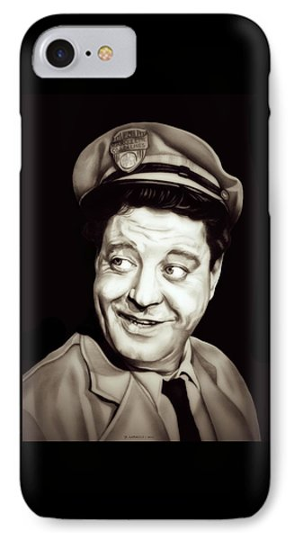 Classic Ralph Kramden IPhone Case by Fred Larucci