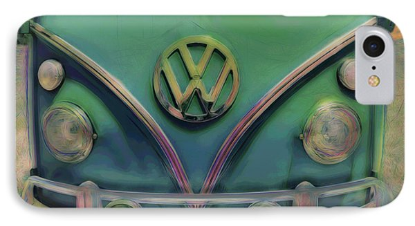 Classic Vw Bus IPhone Case by Ann Powell