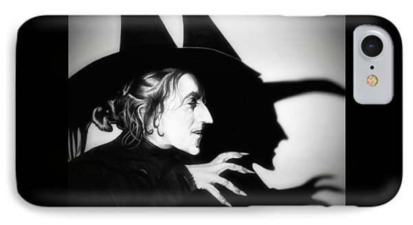 Classic Wicked Witch Of The West IPhone Case by Fred Larucci