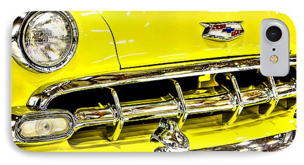 Classic Yellow Chevrolet IPhone Case by Tyra OBryant