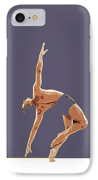 Classical Ballet Dancer IPhone Case by Joaquin Abella