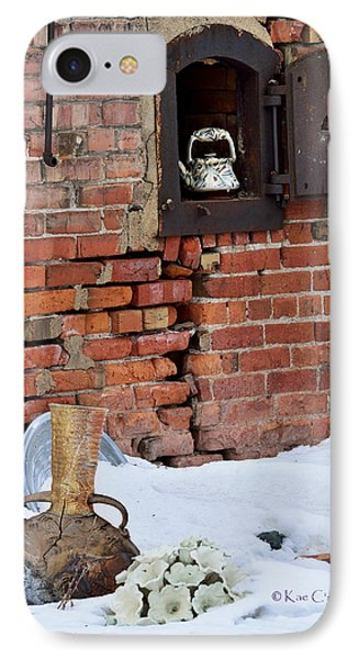 IPhone Case featuring the photograph Classy Pottery Remnants by Kae Cheatham