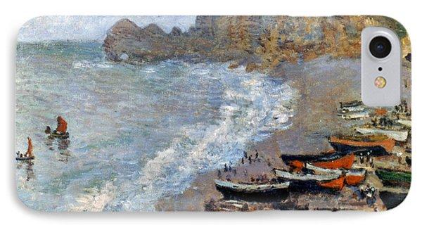 Claude Monet: Etretat, 1883 Phone Case by Granger