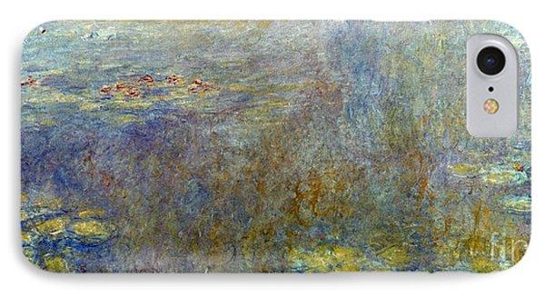 Claude Monet: Waterlilies Phone Case by Granger