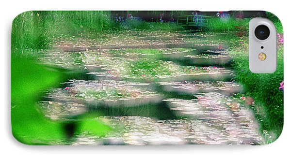 IPhone 7 Case featuring the photograph Claude Monets Water Garden Giverny 1 by Dubi Roman