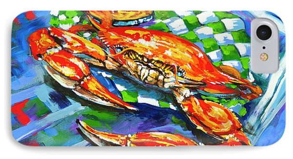 IPhone Case featuring the painting Claw Daddy by Dianne Parks