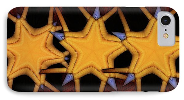 Clawed Stars  IPhone Case by Ron Bissett