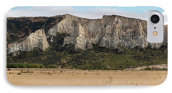 IPhone Case featuring the photograph Clay Cliffs Omarama by Gary Eason
