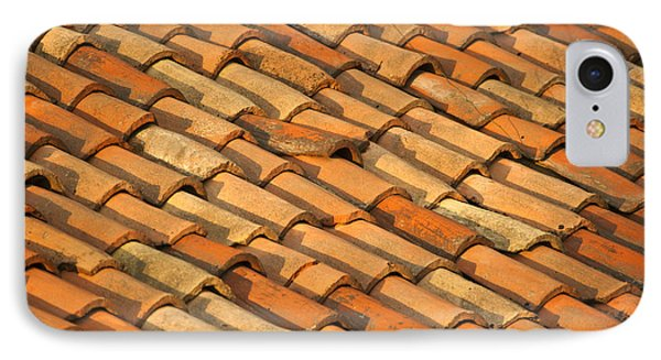 Clay Roof Tiles Phone Case by David Buffington