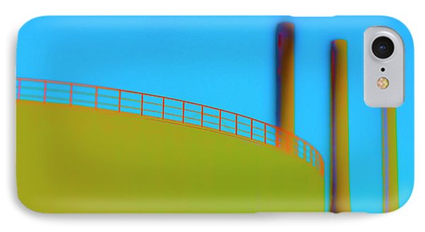 Clean Pipes IPhone Case by Jan W Faul
