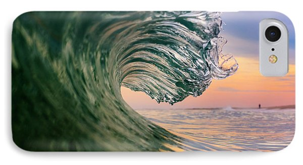 Clean Wave IPhone Case by Ryan Moore