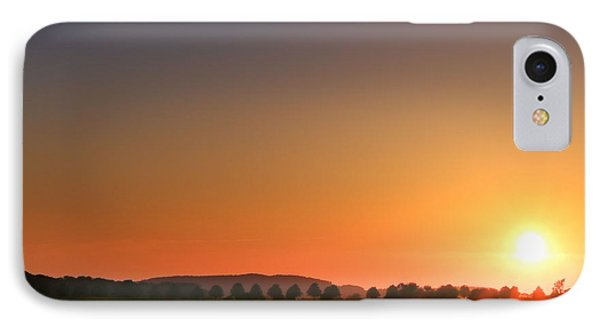 IPhone Case featuring the photograph Clear Sunset by Franziskus Pfleghart