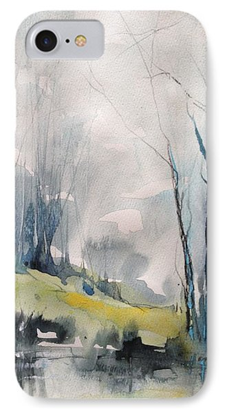 Clearing By The Riverbank IPhone Case by Robin Miller-Bookhout
