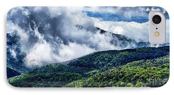 IPhone Case featuring the photograph Clearing Storm Highland Scenic Highway by Thomas R Fletcher