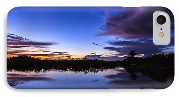 Clearing Storm Over The Anhinga Trail Phone Case by Jonathan Gewirtz