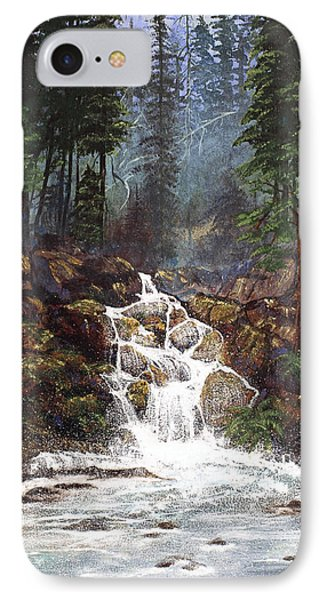 Clearwater Falls Phone Case by Diane Schuster
