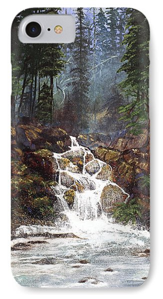 Clearwater Falls IPhone Case by Diane Schuster