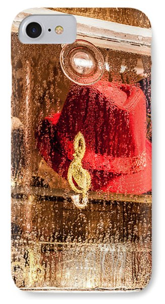 Clef And Hat IPhone Case