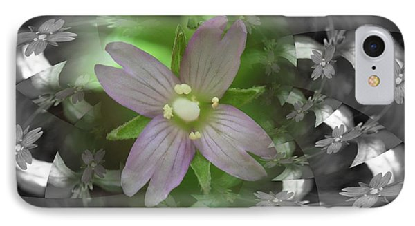 Clematis IPhone Case by Keith Elliott