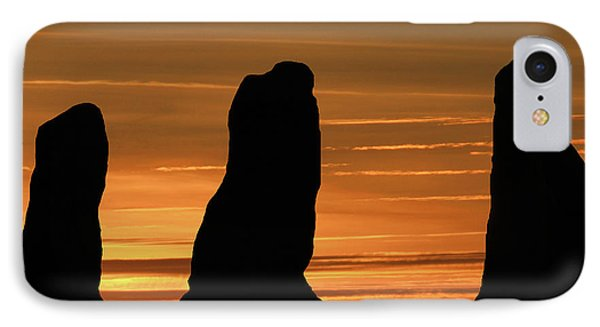Clent Hills Sunset IPhone Case