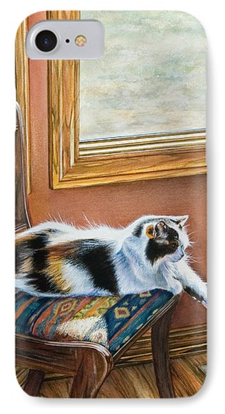 Cleo In The Sun IPhone Case by Laurie Tietjen
