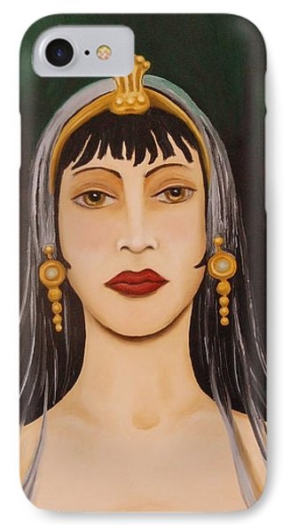 Cleo Phone Case by Leah Saulnier The Painting Maniac
