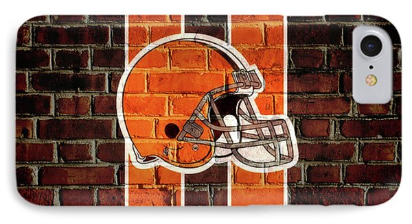 Cleveland Browns Brick Wall IPhone Case