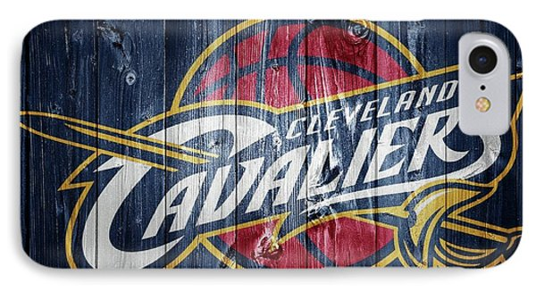 Cleveland Cavaliers Barn Door IPhone Case by Dan Sproul