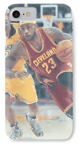 Cleveland Cavaliers Lebron James 3 IPhone 7 Case