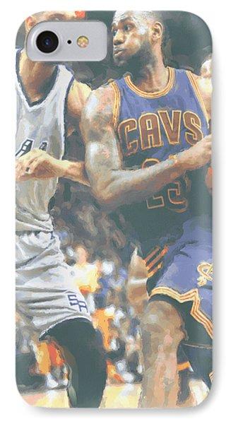 Cleveland Cavaliers Lebron James 4 IPhone 7 Case