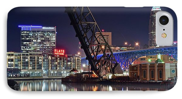 Cleveland Flats East Bank IPhone Case
