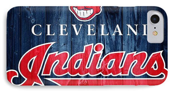 Cleveland Indians Barn Door IPhone Case by Dan Sproul