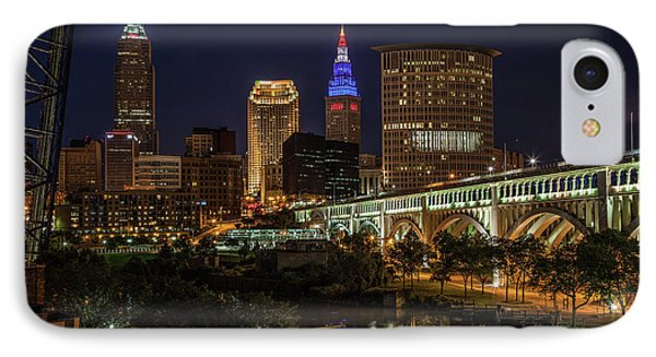 Cleveland Nightscape IPhone Case