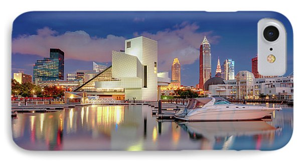 IPhone Case featuring the photograph Cleveland Ohio 2  by Emmanuel Panagiotakis