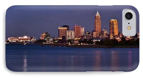 Cleveland Ohio IPhone Case by Dale Kincaid