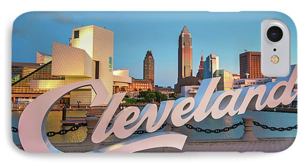 Cleveland's North Coast IPhone Case by Brent Durken
